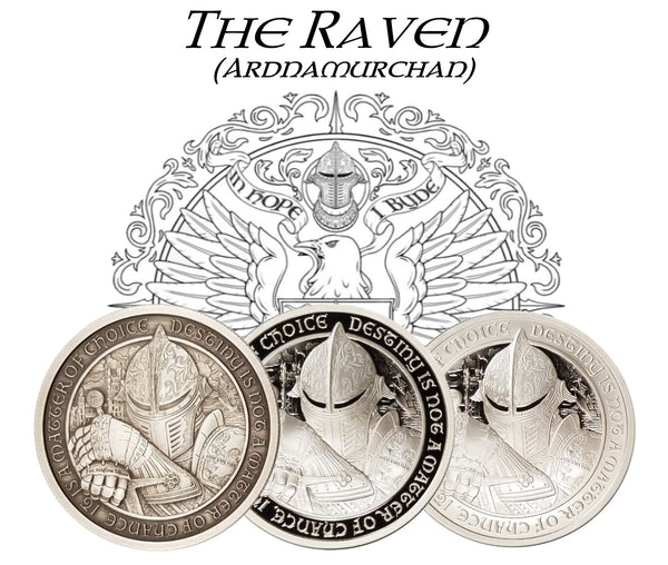 "Destiny of Three ""THE RAVEN"" - ""Ardnamurchan""  (includes all three coins) - The Destiny Series"
