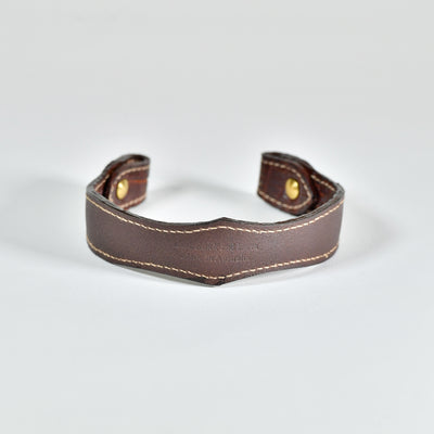 Crocodile Leather Horse Browband