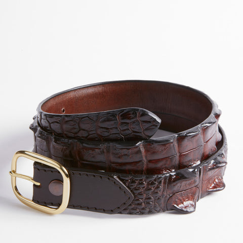 Crocodile Hornback Belt - 32mm Limited Edition