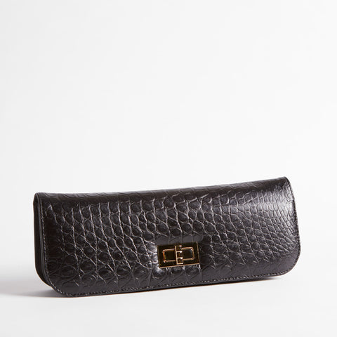 Crocodile Clutch Purse