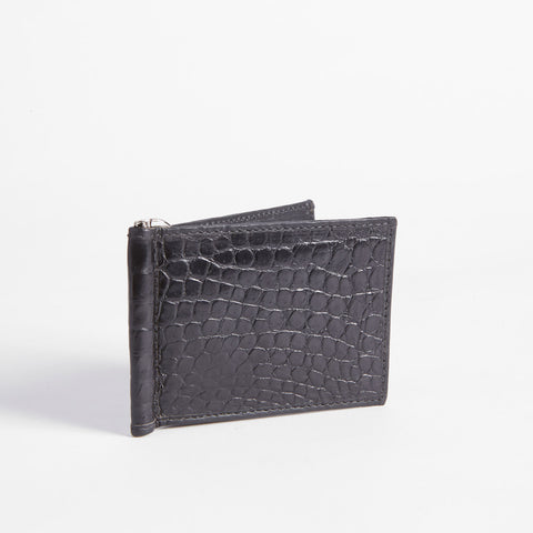Bill Fold Crocodile Wallet