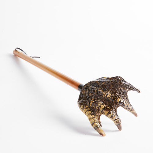 Taxidermy Crocodile Claw Backscratcher