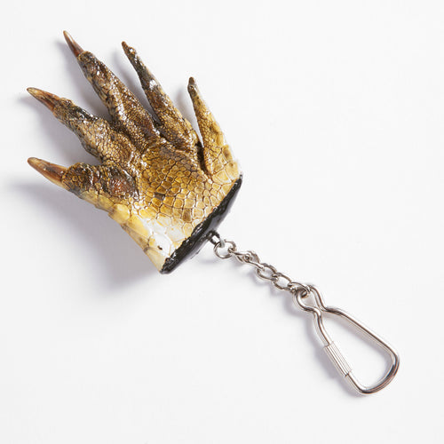 Taxidermy Crocodile Claw Key Ring