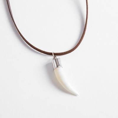 Crocodile Tooth Necklace