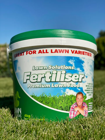 LSA Premium Lawn Fertiliser - 4kg or 10kg