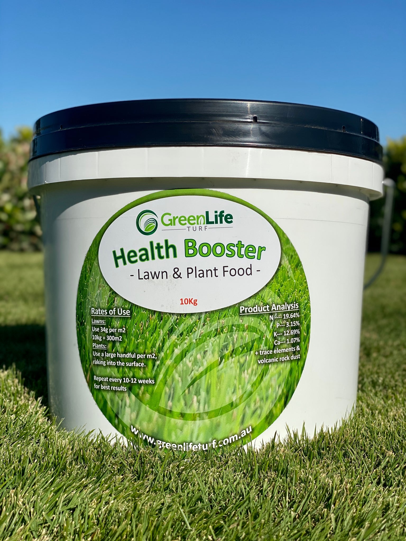 Health Booster Lawn & Plant Food Fertiliser - 10kg
