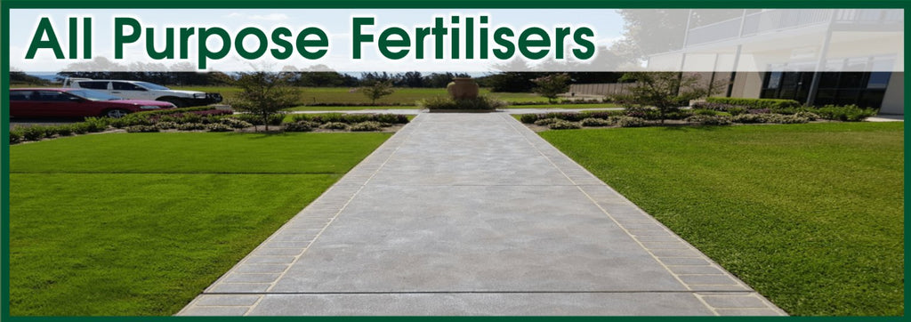 All Purpose Fertilisers - Lawn & Turf Care Products