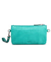 Petal Leather Clutch