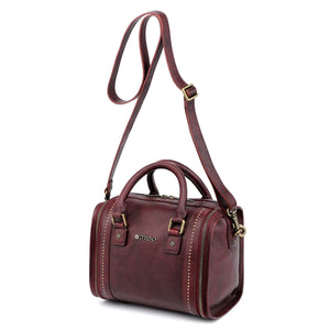 Mini Trunk Leather Crossbody
