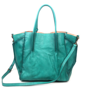 Sprout Land Leather Tote - Old Trend