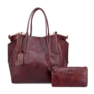 Sprout Land Leather Tote