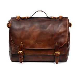 Old Trend Sandstorm Leather Messenger