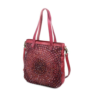 Stellar Stud Leather Tote