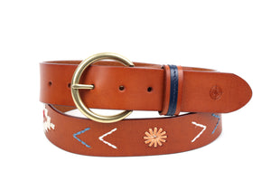 Sunrise Leather Belt