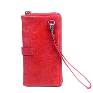 Savanna Leather Clutch