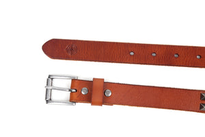 Stud Leather Belt