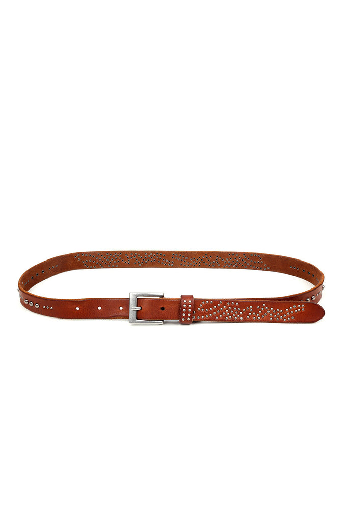 Stardust Leather Belt