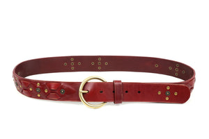 Gia Leather Belt