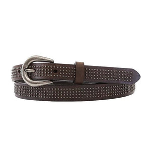 Vixen Brown Leather Belt