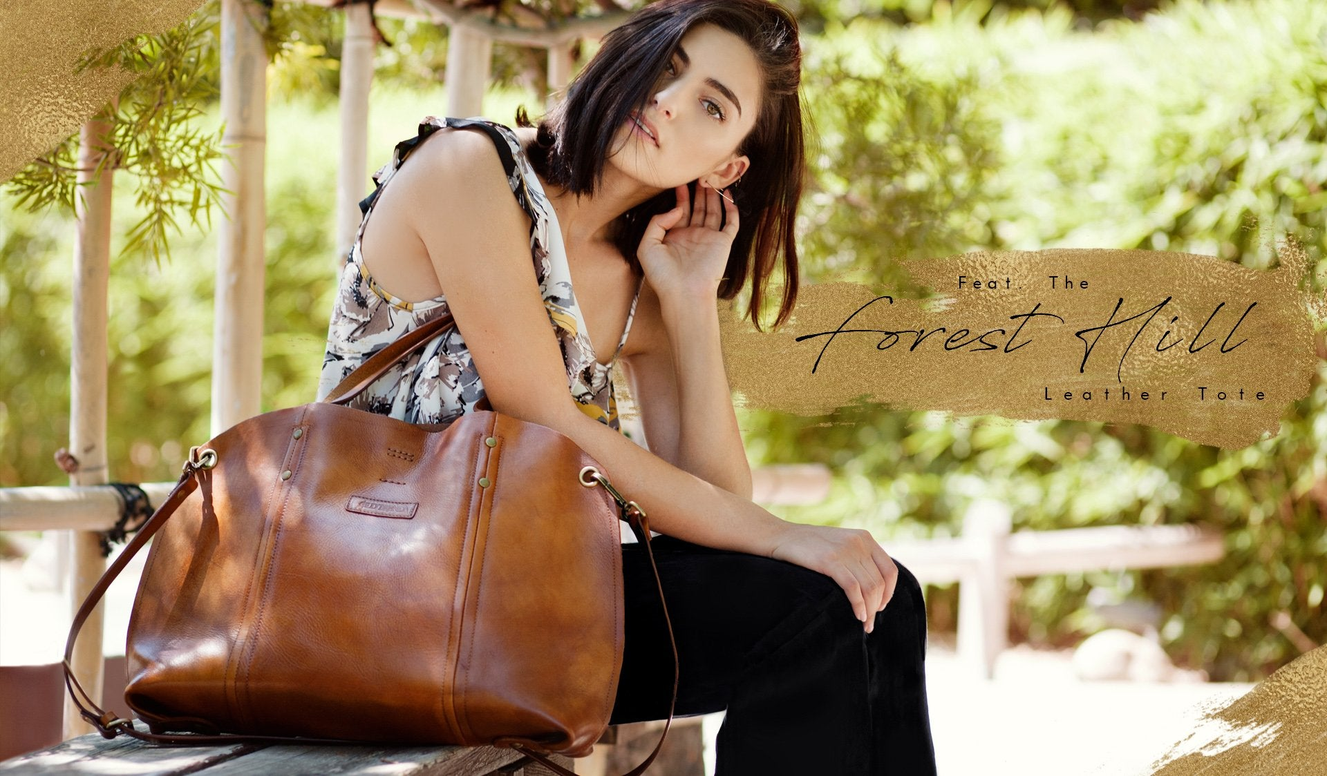 Featuring the Wind Leaf Tote