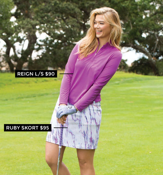Women's Golf Top and Skort