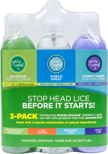 3-Pack Shampoo, Conditioner, Shield Spray
