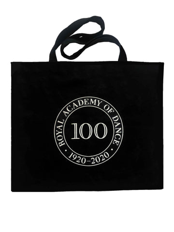 Centenary Logo canvas shopper tote bag