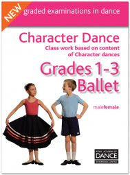 "DVD Grade 1 to 3 Character Dance ""New"""