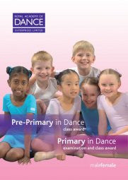 DVD Pre-Primary and Primary in Dance