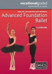 Sheet Music Book - Advanced Foundation Male/Female