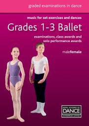 Sheet Music Book - Grade 1-3 Set Exercises and Dances