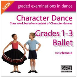 CD Grade 1-3 Character Dance