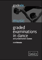 Sheet Music Book- Grade 6 Male and Female