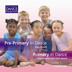 CD Pre-Primary and Primary in Dance