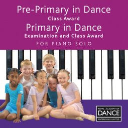 CD Pre-Primary and Primary Dance for Piano