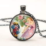 The Nutcracker Ballet Glass Cabochon Pendant