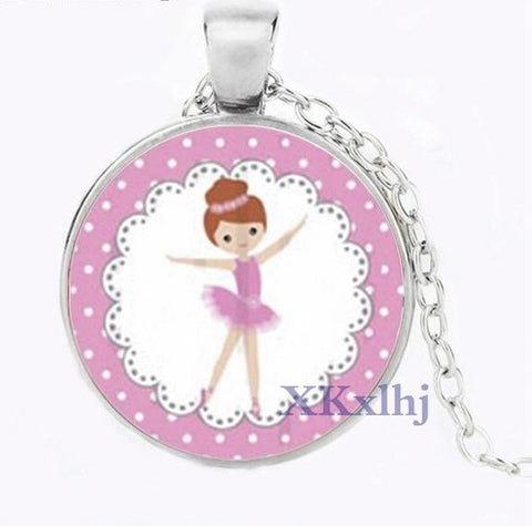 Cute Ballerina Necklace