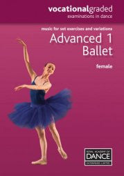 Sheet Music Book - Advanced One Female