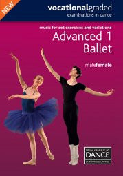 Sheet Music Book - Advanced One Male/Female