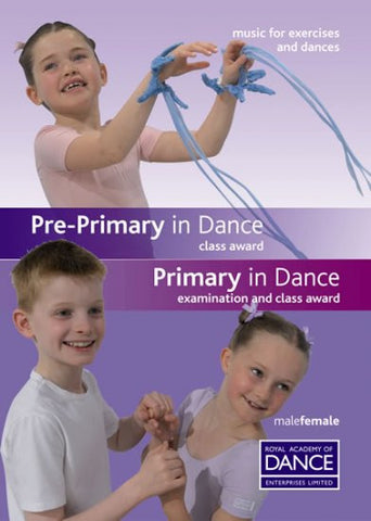 Sheet Music Book - Pre-Primary and Primary in Dance