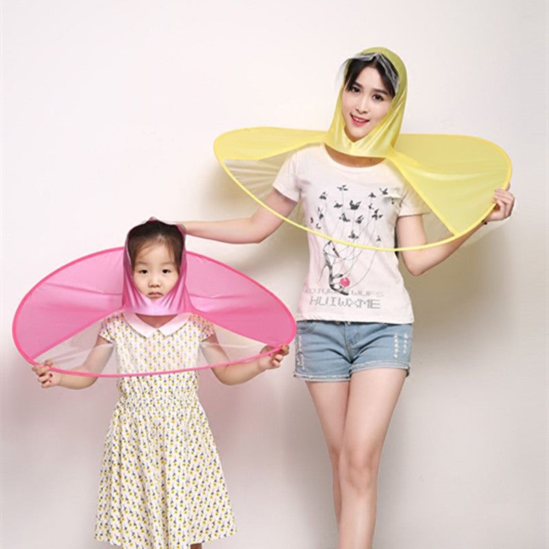 UFO Cap kids full body Umbrella