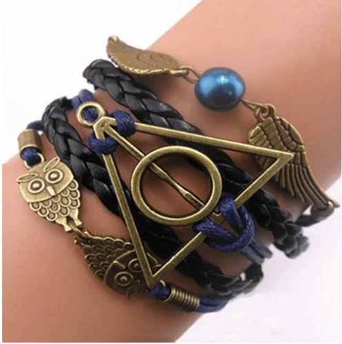 Vintage Owl Bracelets Harry Potter wings - Best Fantasy Shop