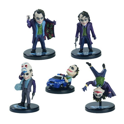 The Joker Action Figure Collection  5pcs/set 2[inch] / 5[cm]