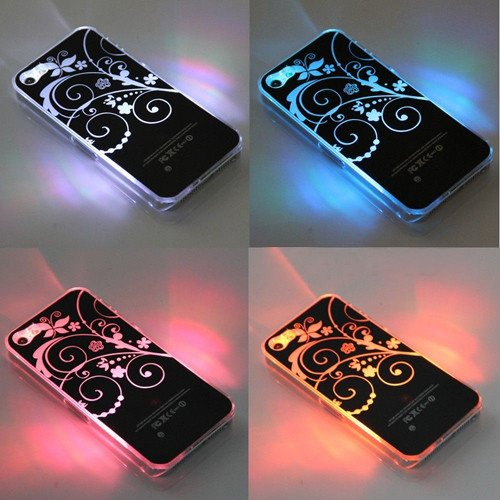 LED Case Cover -iPhone 4 4S 5 5S