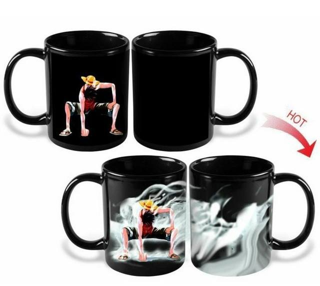 Heat Reactive  Mug Cup -  One Piece - Luffy - Best Fantasy Shop