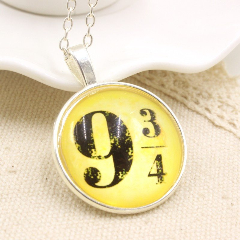 Platform 9.3/4 Pendant Necklace - Best Fantasy Shop