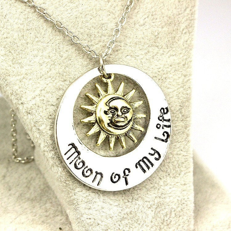 moon of my life necklace - Best Fantasy Shop
