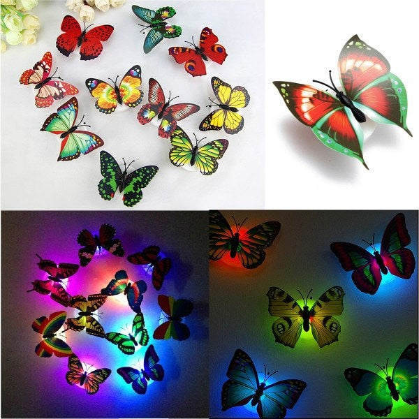 Butterfly LED Night Lights Lamp