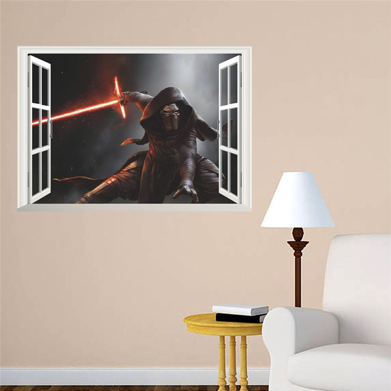 Sith Lord wall sticker - Best Fantasy Shop