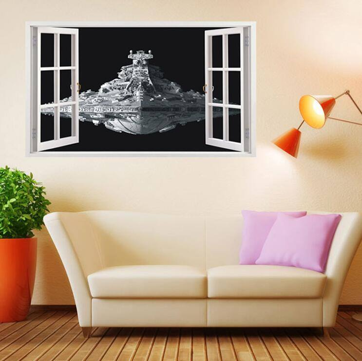 Destroyer wall sticker - Best Fantasy Shop